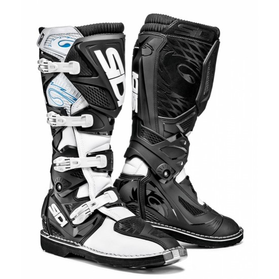 SIDI X-3 Offroad Boots - White Black