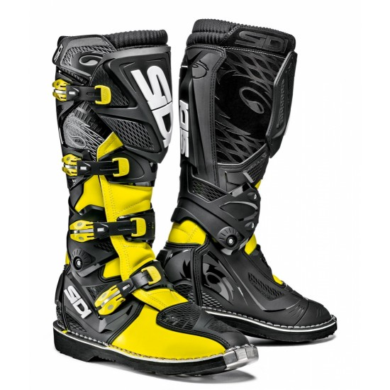 SIDI X-3 Offroad Boots - Yellow Black