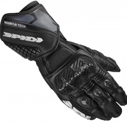 Spidi Leather Gloves - Carbo 5 Black