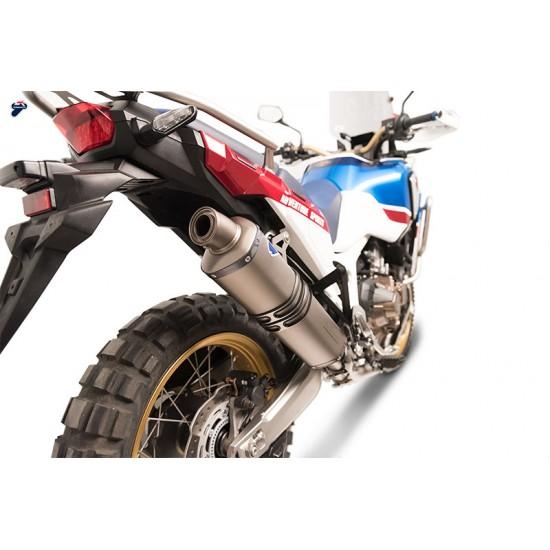 Termignoni Complete Exhaust Slip On Muffler Relevance Titanium For Honda CRF1000L Africa Twin Mpn - H13709400TTX