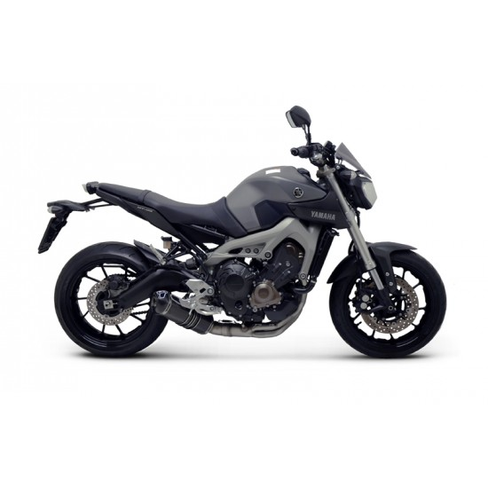 Termignoni Relevance Full Exhaust System In Carbon Racing For Yamaha MT-09 MPN - Y102090CV