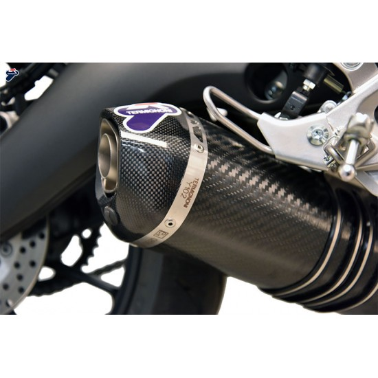 Termignoni Relevance Full Exhaust System Y102 In Carbon Racing For Yamaha MT-09 MPN - Y102090CVB