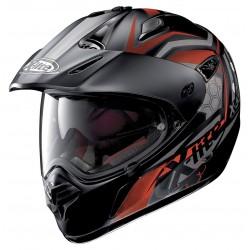 X-Lite X-551 GT Kalahari N-Com Flat Black Dual Sport Face Helmet