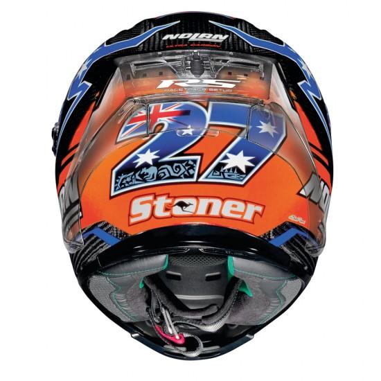 X-lite X-803 Rs Ultra Carbon N-com Replica Stoner Full Face Helmet