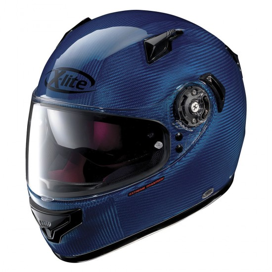 X-Lite X-661 Extreme Titantech Tinto N-Com Blue Full Face Helmet