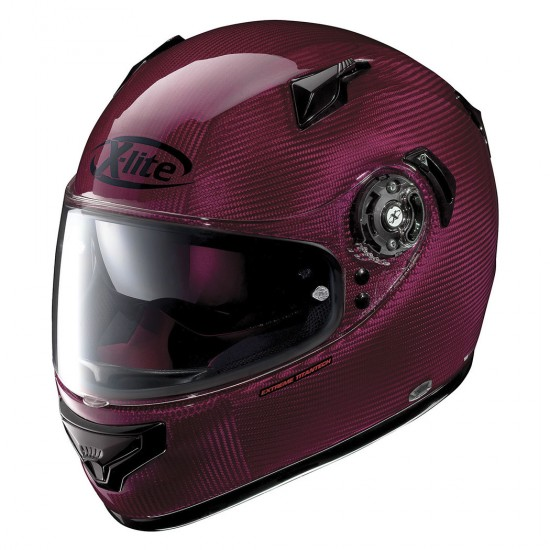 X-Lite X-661 Extreme Titantech Tinto N-Com Red Full Face Helmet