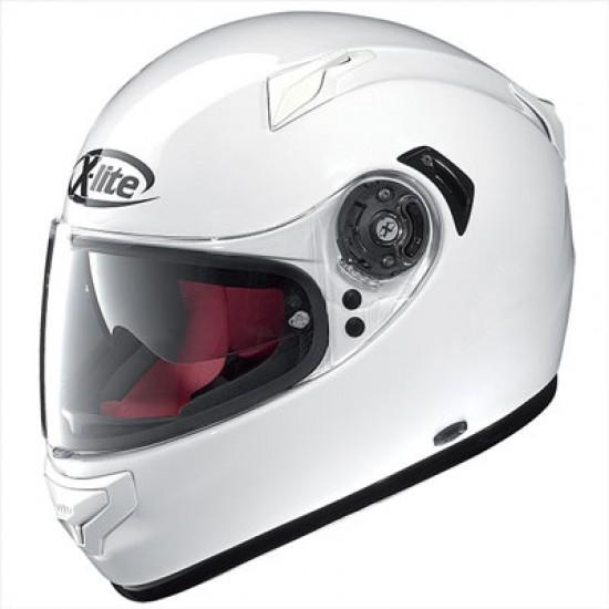 X-Lite X-661 Start N-Com Metal White Full Face Helmet