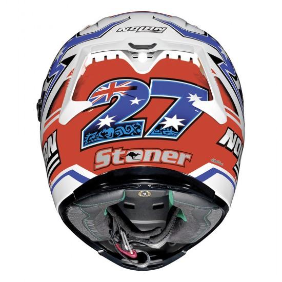 X-Lite X-803 C Stoner Metal White Full Face Helmet
