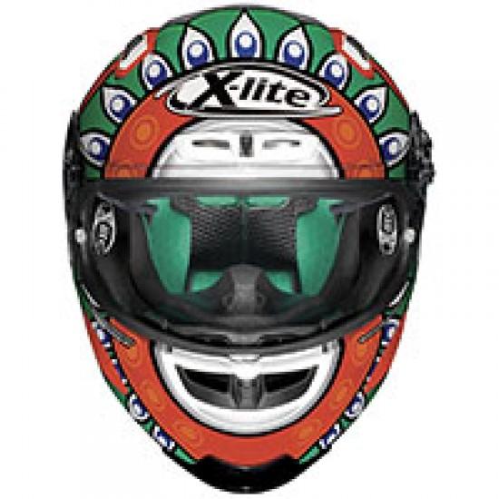 X-Lite X-803 Replica C Davis Italy Metal Black Full Face Helmet