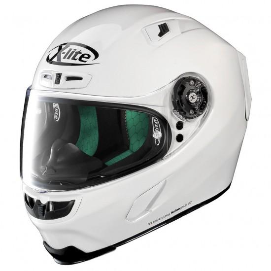 X-Lite X-803 Start Metal White Full Face Helmet