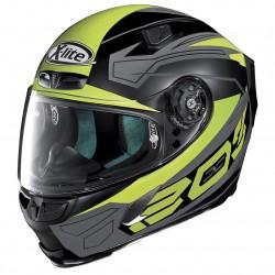 X-Lite X-803 Tester Flat Black Yellow Full Face Helmet