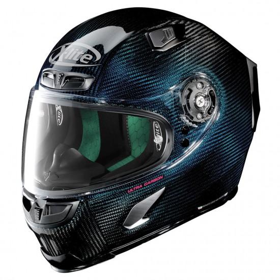 X-Lite X-803 Ultra Carbon Nuance Carbon Blue Full Face Helmet