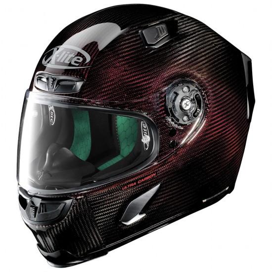 X-Lite X-803 Ultra Carbon Nuance Carbon Red Full Face Helmet