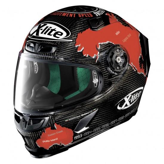 X-Lite X-803 Ultra Carbon Replica C Checa Carbon Full Face Helmet
