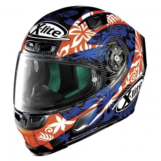 X-Lite X-803 Ultra Carbon Replica D Petrucci Carbon Full Face Helmet