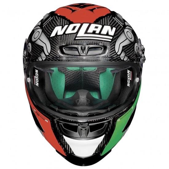 X-Lite X-803 Ultra Carbon Replica M Melandri Carbon Full Face Helmet