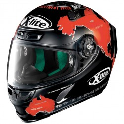 X-Lite X- 803 Replica C Checa Flat Black Full Face Helmet