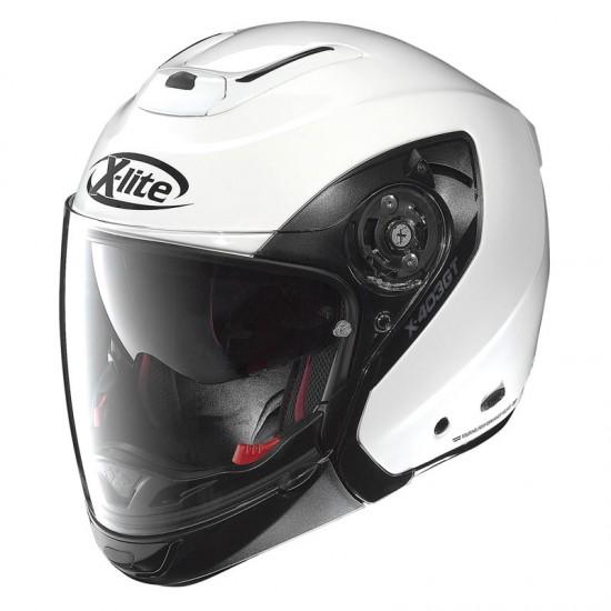 X-Lite X-403 GT Elegance N-Com Metal White Modular Helmet