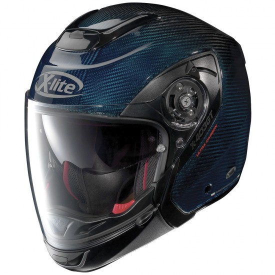 X-Lite X-403 GT Ultra Carbon Nuance N-Com Carbon Blue Modular Helmet
