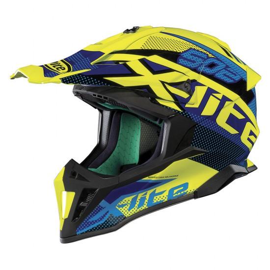 X-Lite X-502 Resistencia Led Yellow Helmet