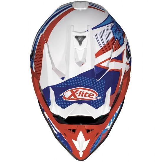 X-Lite X-502 Resistencia Metal White Helmet