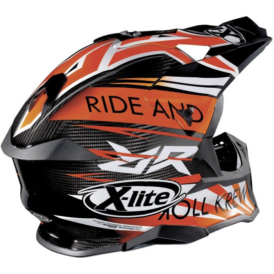 X-Lite X-502 Ultra Carbon Replica M Bianconcini Carbon Off Road Helmet