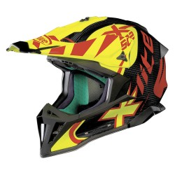 X-Lite X-502 Ultra Carbon Xtrem Carbon Yellow Off Road Helmet