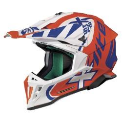 X-Lite X-502 Xtrem Led Orange Helmet