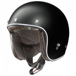 X-Lite X-201 Fresno Flat Black Open Face Helmet