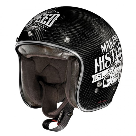 X-Lite X-201 Ultra Carbon Motogp Legendes Open Face Helmet