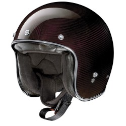 X-Lite X-201 Ultra Carbon Nuance Carbon Red Open Face Helmet