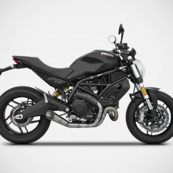 Zard Conical Version 2>1 Full Kit Silencer Ducati Monster 797 MPN - ZD789SKR