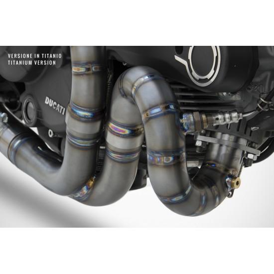 Zard Conical Version 2>1 Full Kit Silencer Ducati Monster 797 MPN - ZD789SKR