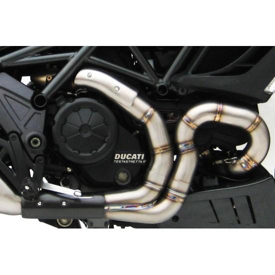 Zard Headers Kit Ducati Diavel MPN - ZD117SCR