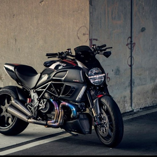 Zard Limited Edition Silencer Ducati Diavel MPN - ZD117LIMSSR