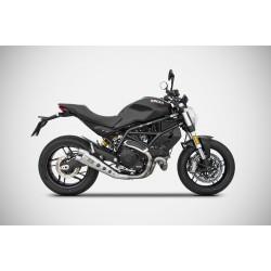 Zard Low Mounted Silencer Ducati Monster 797 MPN - ZD790SSR