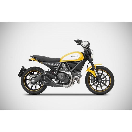 Zard Evo-R Version Slip-on Silencer Ducati Scrambler MPN - ZDSPECIAL EVO-R