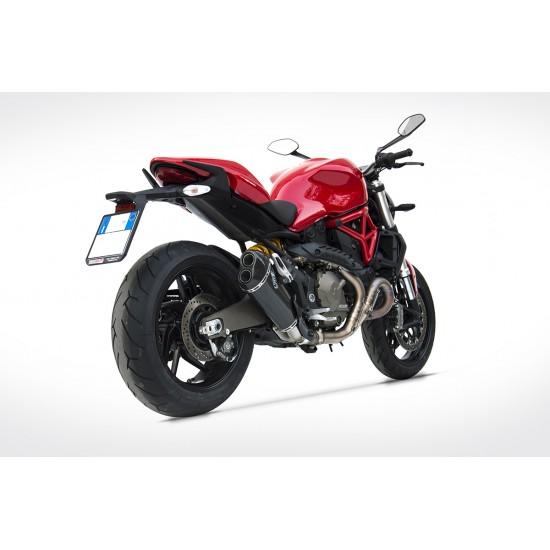 Zard Steel Version Silencer Ducati Monster 821 MPN - ZD119SSR