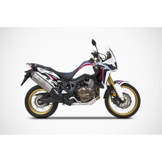 Zard Steel-carbon Version Silencer Honda Africa Twin MPN - ZHND366SSR-FC