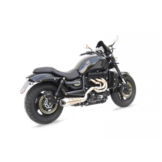 Zard Sport Version Snake Welded 06-18 Full Kit Triumph Rocket III - ZTPH501SKS