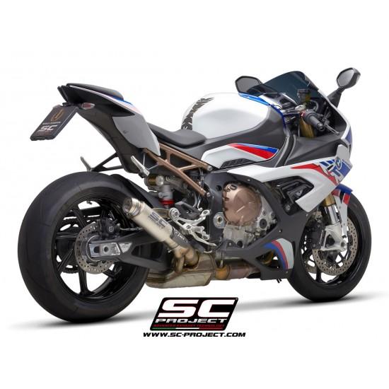 SC-Project GP70-R Muffler Titanium With Titanium BMW S 1000 RR 2019 MPN - B33-70T