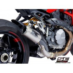 SC-Project CR-T Muffler Titanium Ducati Monster 1200 2017-2019 MPN - D25B-T38T