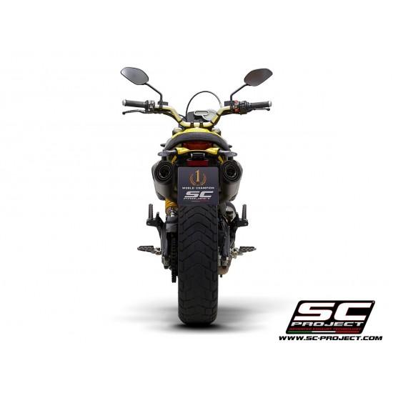 SC-Project Pair OF S1 Mufflers Titanium Ducati Scrambler 1100 2018-2019 MPN - D29-41T