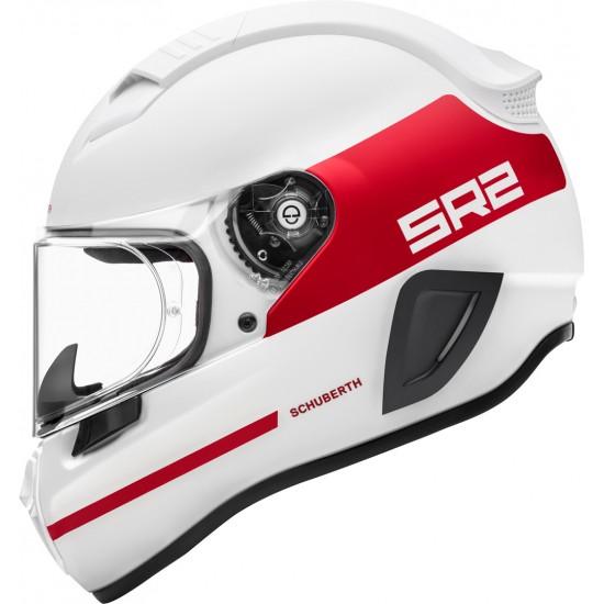 Schuberth SR2 Horizon Red Full Face Helmet