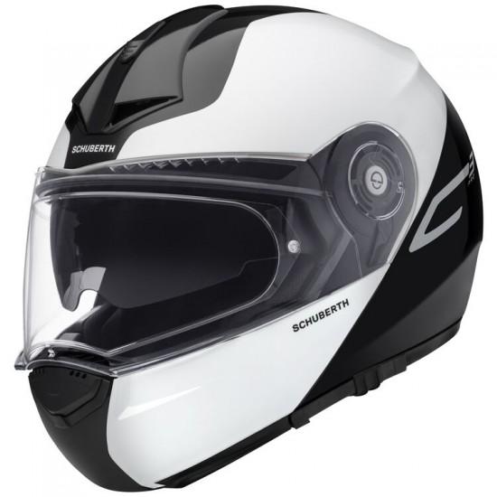 Schuberth C3 Pro Split White Modular Helmet