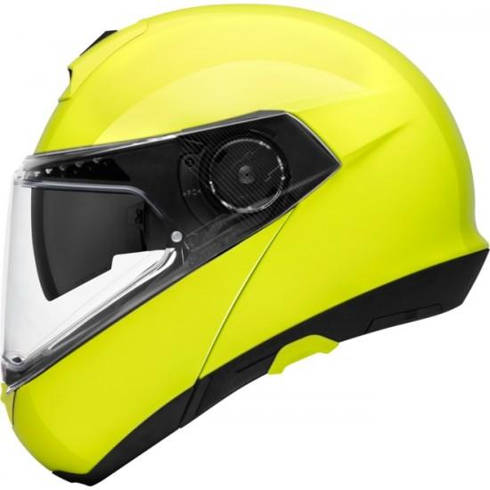 Schuberth C4 Pro Fluo Yellow Modular Helmet