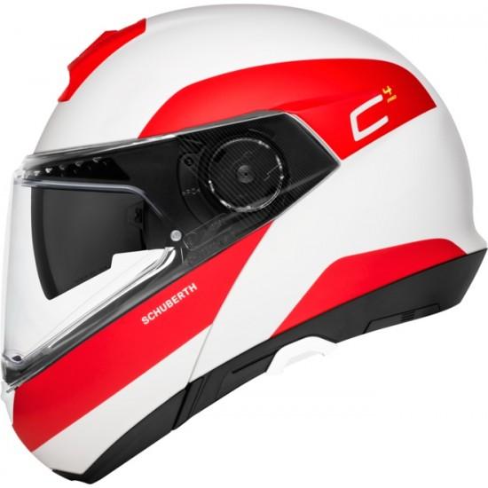 Schuberth C4 Pro Fragment Red Modular Helmet