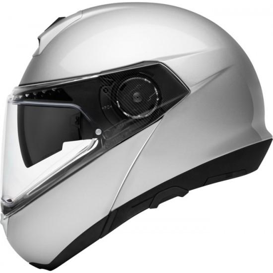 Schuberth C4 Pro Glossy Silver Modular Helmet