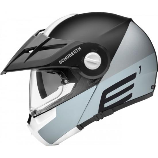 Schuberth E1 Cut Grey Modular Helmet