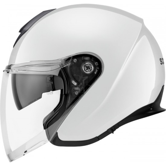 Schuberth M1 Pro Glossy White Open Face Helmet